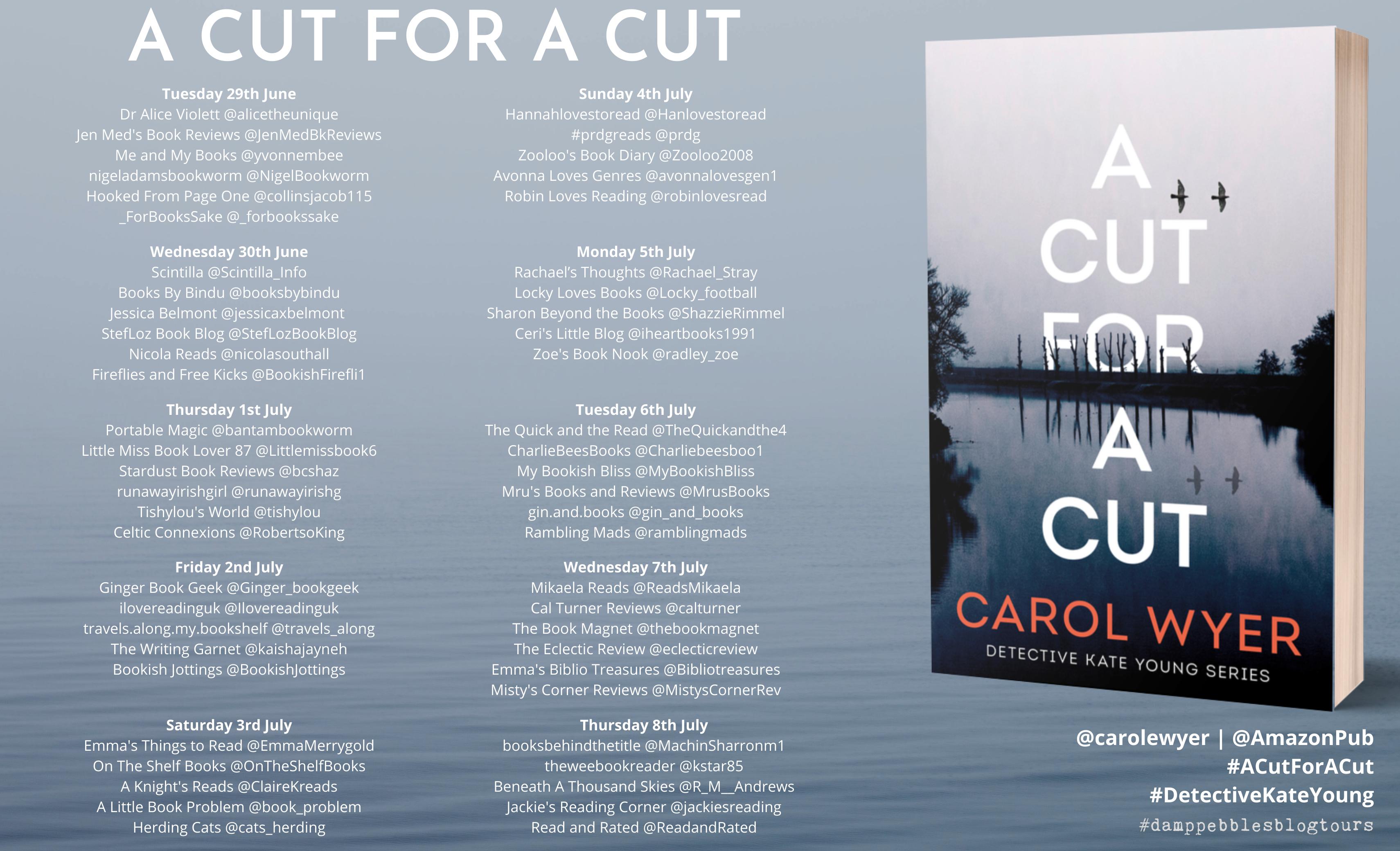 A Cut for a Cut banner