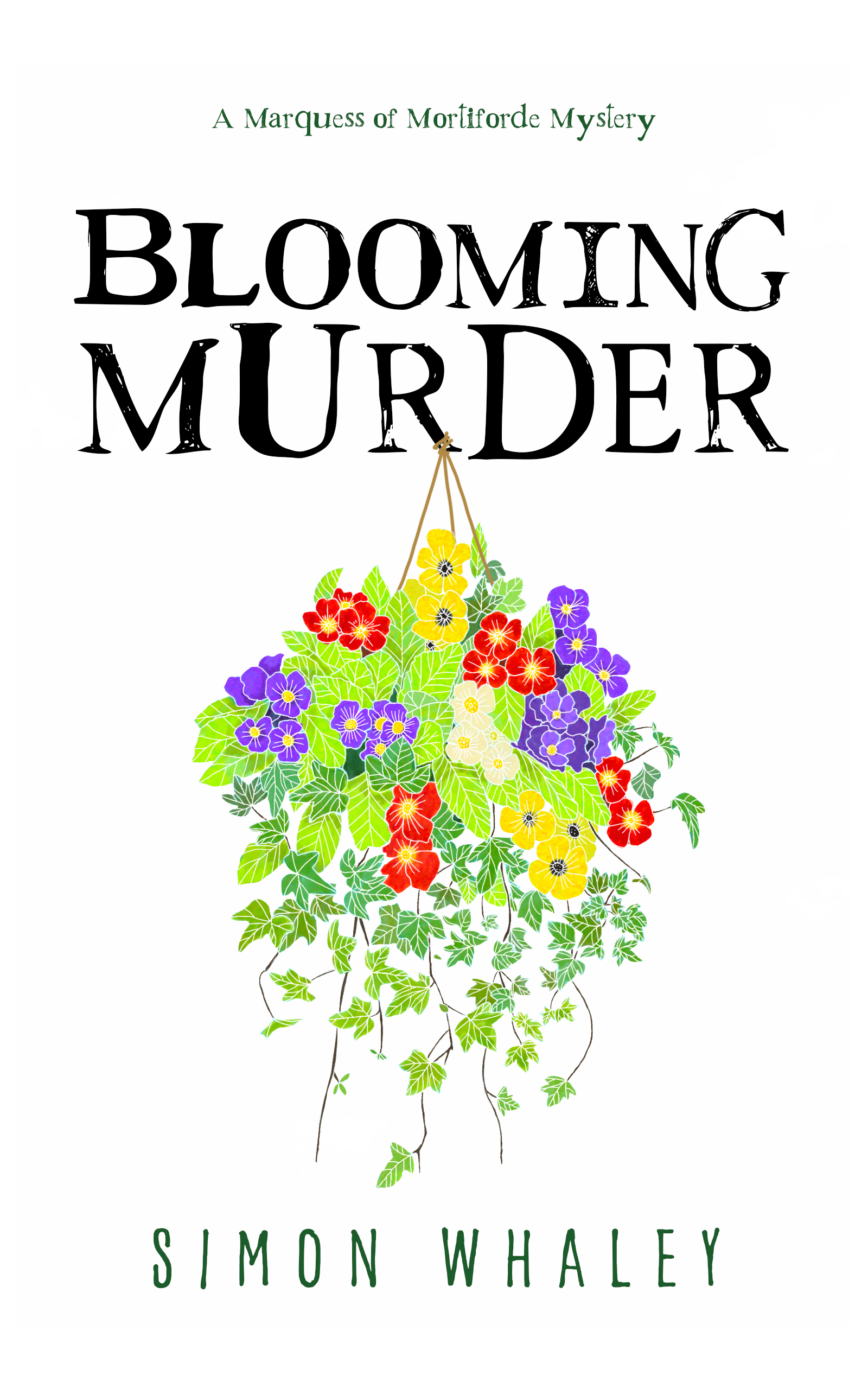 Blooming Murder ebook cover