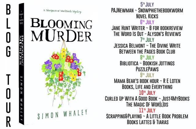 Blooming Murder Full Tour Banner