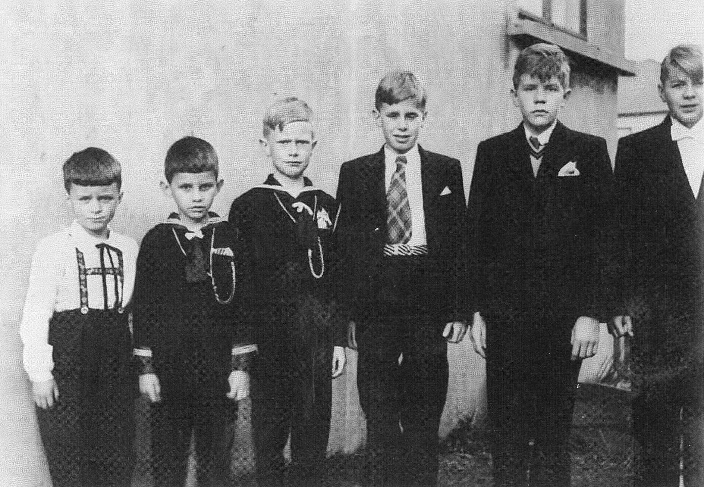 six boys