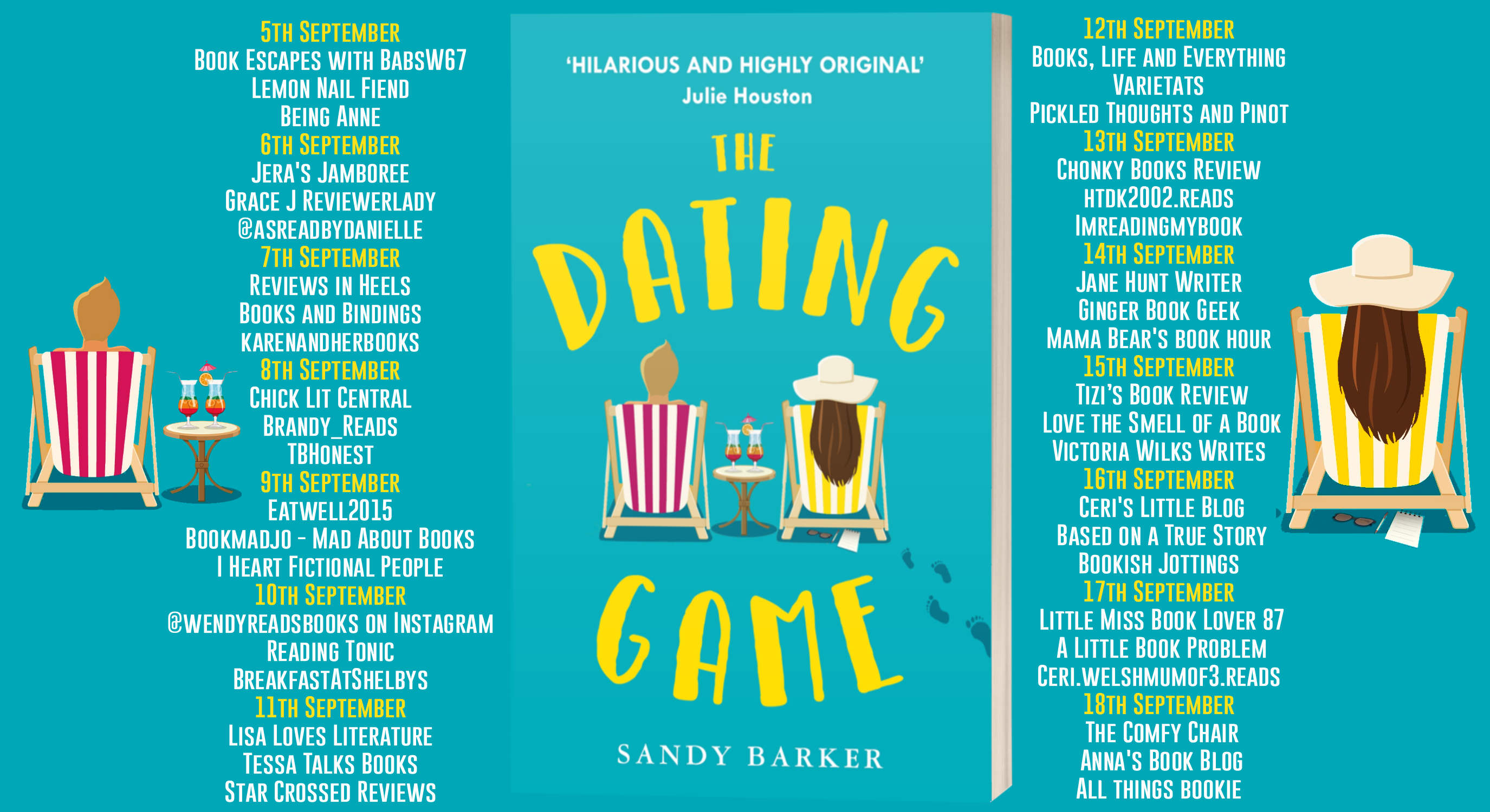 The Dating Game Full Tour Banner